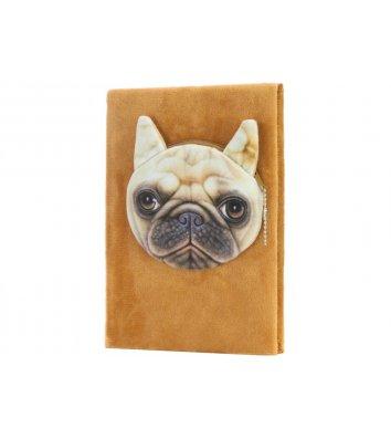 Блокнот пухнастий з гаманцем  A5 80арк лінія, Maxi