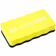 Губка для дошок магнітна жовта, Buromax