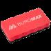 Губка для дошок магнітна червона, Buromax