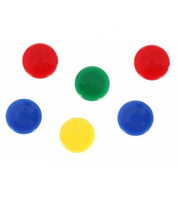 Набір магнітів 8шт 20мм кольоровий, Магнітка