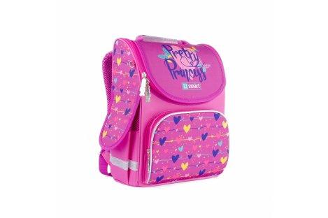 Рюкзак каркасный школьный Pretty Princess Smart, 1Вересня