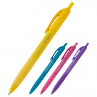 Ручка кулькова Bright, колір чорнил синій 0,7мм, Axent