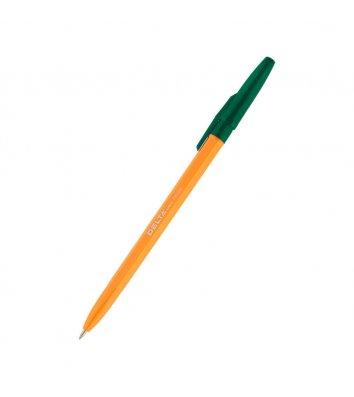 Ручка шариковая 0,7мм цвет чернил зеленый, Delta