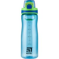 Бутылочка для воды 650 мл голубая, Kite