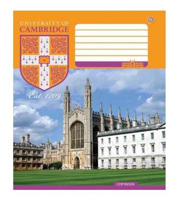 Зошит 18 аркушів клітинка Cambridge history асорті, Зошити України