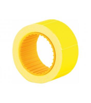 Етикетки-цінники 30*40мм 150шт жовті, Economix
