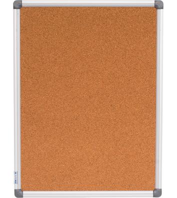 Доска пробковая 45*60см, алюминиевая рамка, Buromax