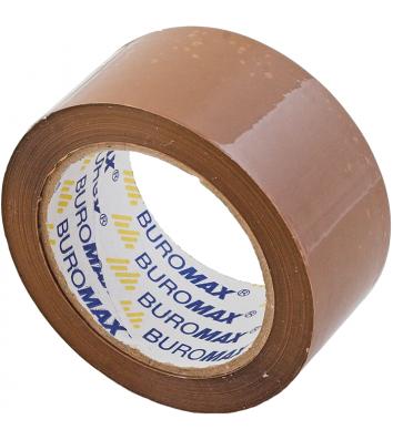 Скотч  48мм*90м упаковочный коричневый, Buromax