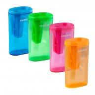 Чинка пластикова 1 лезо з контейнером Lighter, Axent