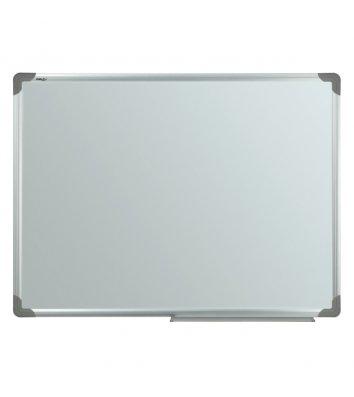 Доска магнитно-маркерная 90*120см, алюминиевая рамка, Delta