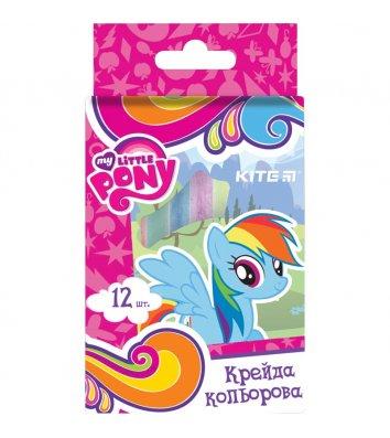 Мел цветной 12шт Little Pony, Kite