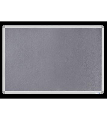 Дошка магнітно-текстильна  60*90см, рамка алюмінієва, Buromax