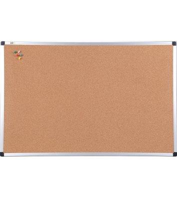Дошка коркова 100*180см, рамка алюмінієва S-line, ABC Office