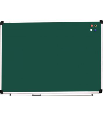 Дошка для крейди 100*150см, рамка алюмінієва, ABC Office