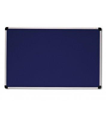 Дошка магнітно-текстильна  90*120см, рамка алюмінієва S-line, ABC Office