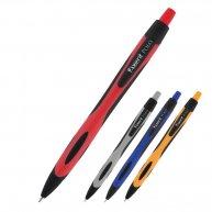 Ручка масляна автоматична Polo, колір чорнил синій 0,7мм, Axent