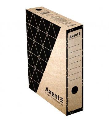Бокс архивный 80мм крафт, Axent