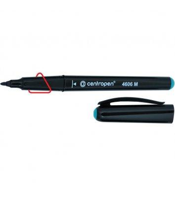 Маркер для CD / DVD 4606, цвет чернил зеленый 1мм, Centropen