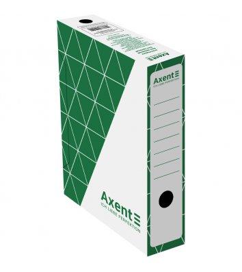 Бокс архивный 80мм зеленый, Axent