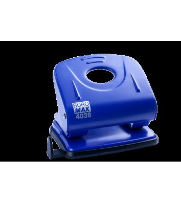 Діркопробивач  30арк корпус металевий колір синій, Buromax