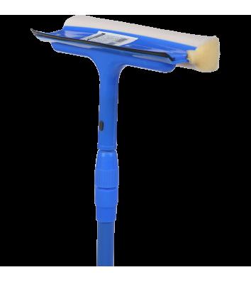 Щітка для миття вікон з телескопічною ручкою, Buroclean