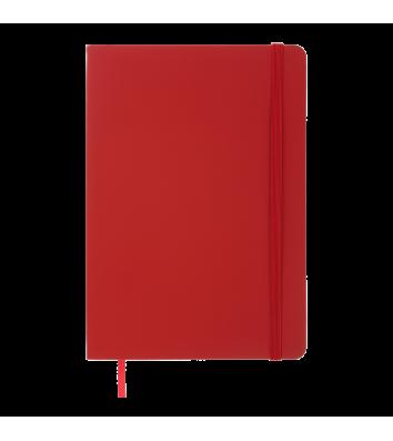 Деловой блокнот А5 96л линия Color Tunes красный, Buromax
