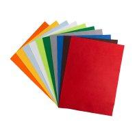 Папір кольоровий фетровий А4 асорті, Santi