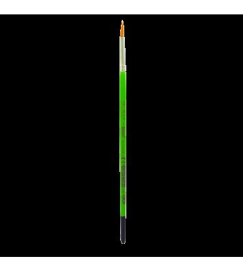 Пензлик  №4 синтетика (нейлон) круглий