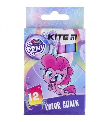 "Крейда кольорова 12шт ""My Little Pony"", Kite"