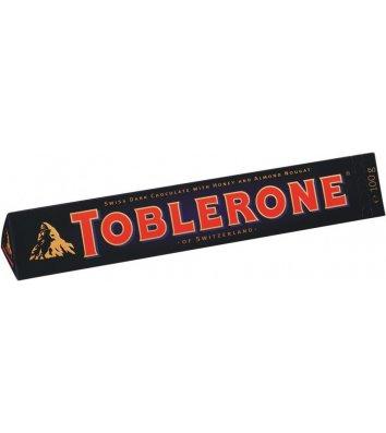 Шоколад чорний з медом і мигдалем 100г, Toblerone