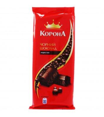 Шоколад чорний пористий 90г, Корона