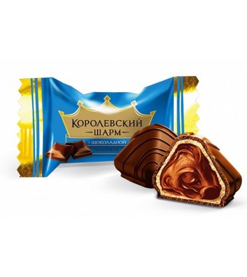 Цукерки Королівський шарм шоколадні 1кг, АВК