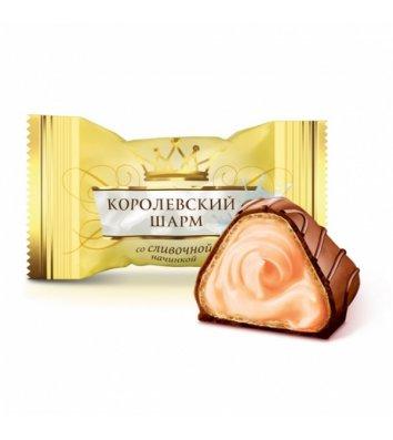 Конфеты Королевский шарм сливочный вкус 1кг, АВК