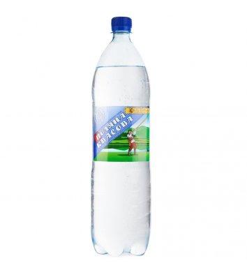 Вода мінеральна газована Поляна Квасова 1,5л
