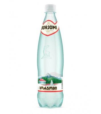Вода минеральная газированная Borjomi 0,75л