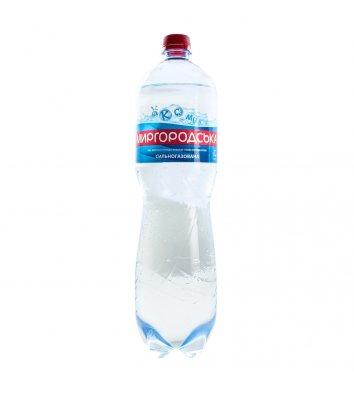 Вода минеральная сильногазированная Миргородська 1,5л