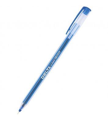 Ручка масляная 0,7мм цвет чернил синий, Delta