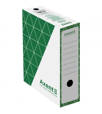 Бокс архівний 100мм зелений, Axent