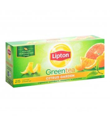 """Чай зелений Lipton """"Citrus Garden"""" в пакетиках 25шт"""