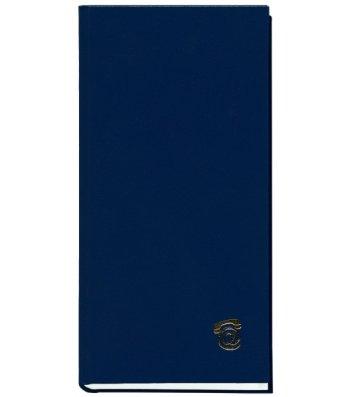 Телефонная книга 100*190мм 80л синяя, Поліграфіст