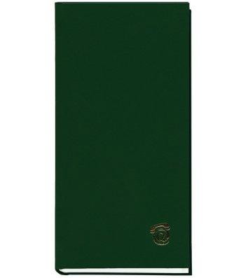 Телефонна книга 100*190мм 80арк зелена, Поліграфіст
