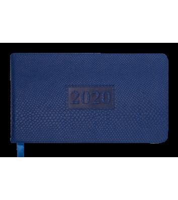 Щотижневик датований 2020 кишеньковий Amazonia синій, Buromax