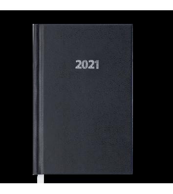 Щоденник датований A6 2021 Strong чорний, Buromax