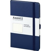 Діловий записник А5 96арк в крапку Partner синій, Axent