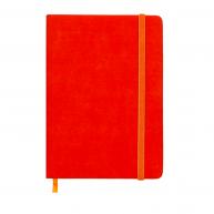 Щоденник датований А5 2019 Touch Me на гумці помаранчевий, Buromax