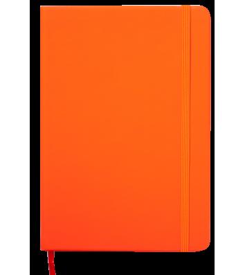 Щоденник датований A5 2022 Touch Me на гумці помаранчевий, Buromax