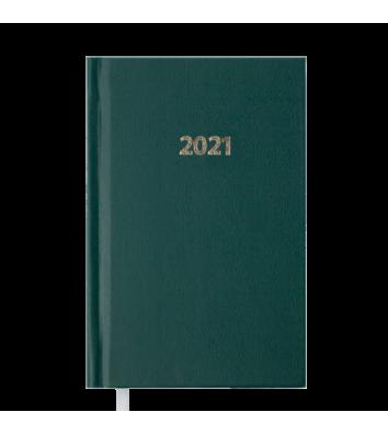 Щоденник датований A6 2021 Strong зелений, Buromax