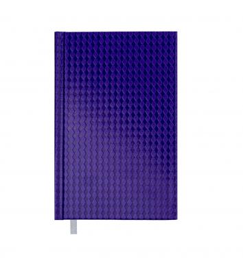 Щоденник датований А6 2019 Diamante фіолетовий, Buromax