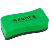 Губка для дошок магнітна зелена Wave, Axent