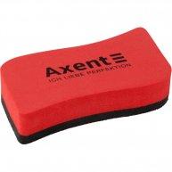 Губка для дошок магнітна червона Wave, Axent